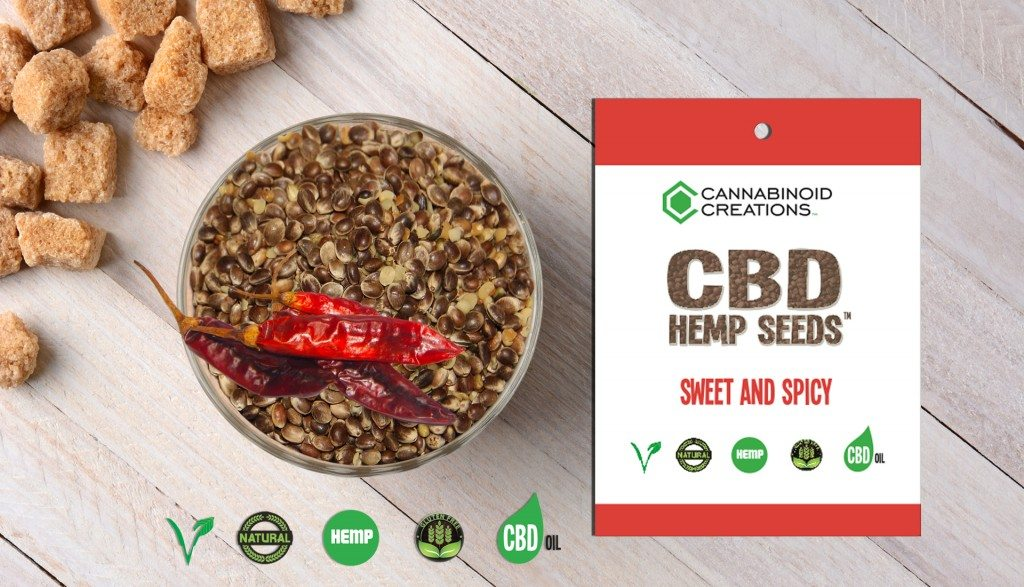 CBD Hemp Seeds Snack