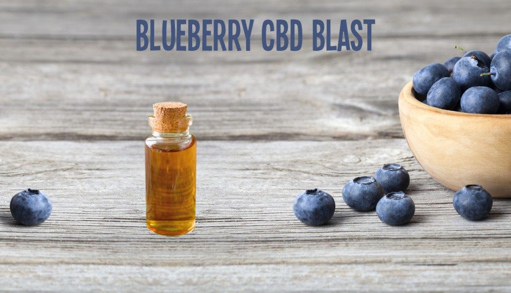 CBD Vape Oil Blueberry