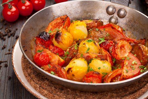 CBD oil Tomato Vinaigrette