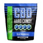 CBD Hard Candy - Blue Raspberry