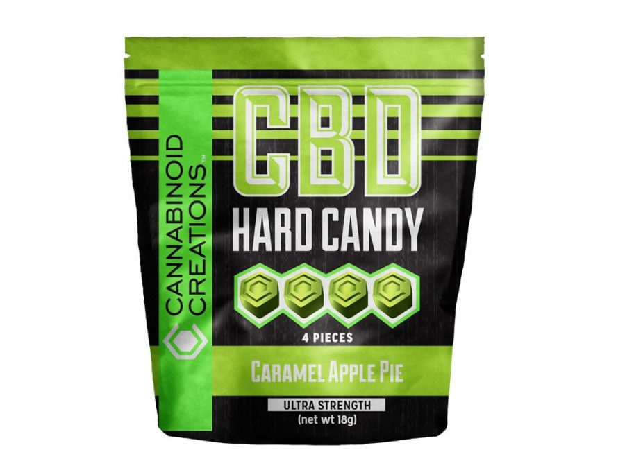 CBD Hard Candies - Caramel Apple Pie