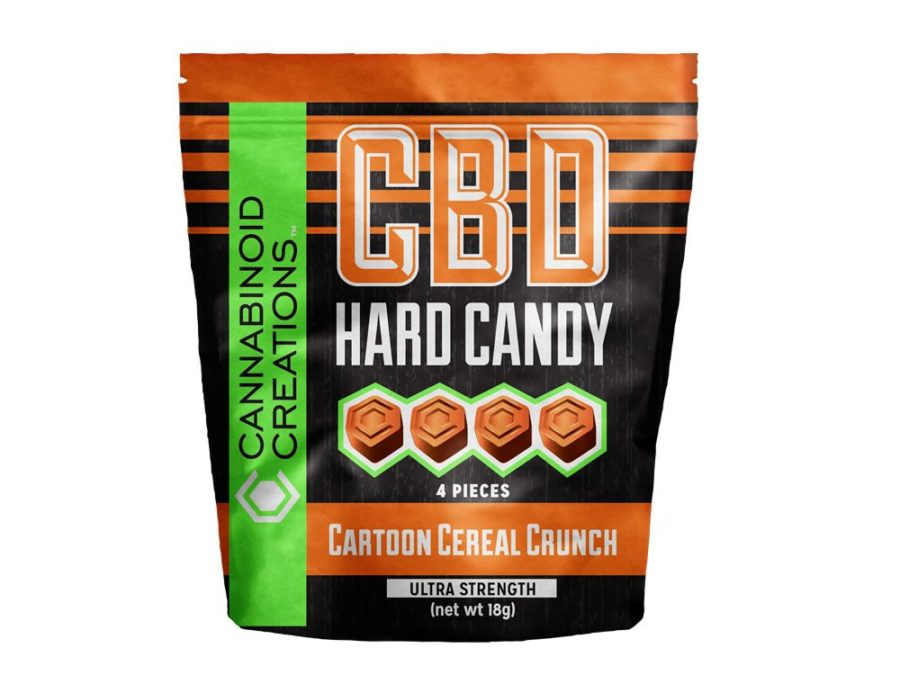 CBD Hard Candy - Cartoon Cereal Crunch
