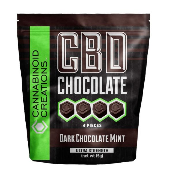 CBD Dark Chocolate Mint Bag 2