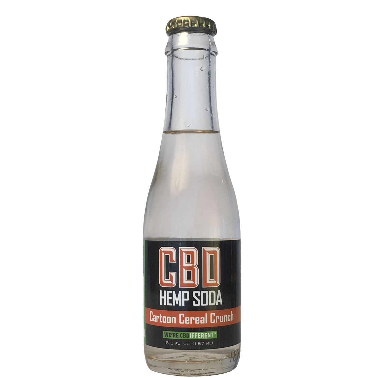 CBD Hemp Soda Cartoon Cereal Crunch