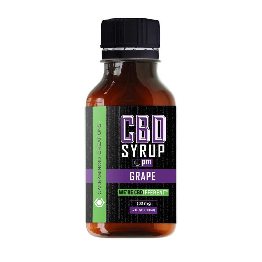 Grape PM CBD Syrup, Grape PM Hemp Syrup