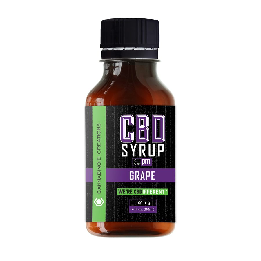 Grape PM CBD Syrup, Grape PM Hemp Syrup