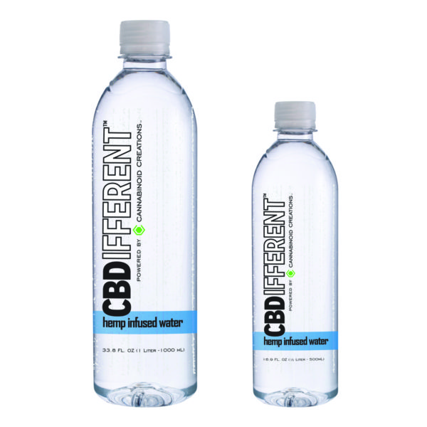 CBDifferent Hemp Bottled Water, Hemp Water, CBD Water, Hemp Infused Water