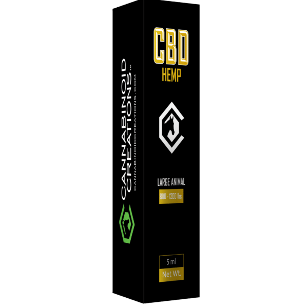 Medium Horse Hemp Oil - CBD Hemp Oil for Horse